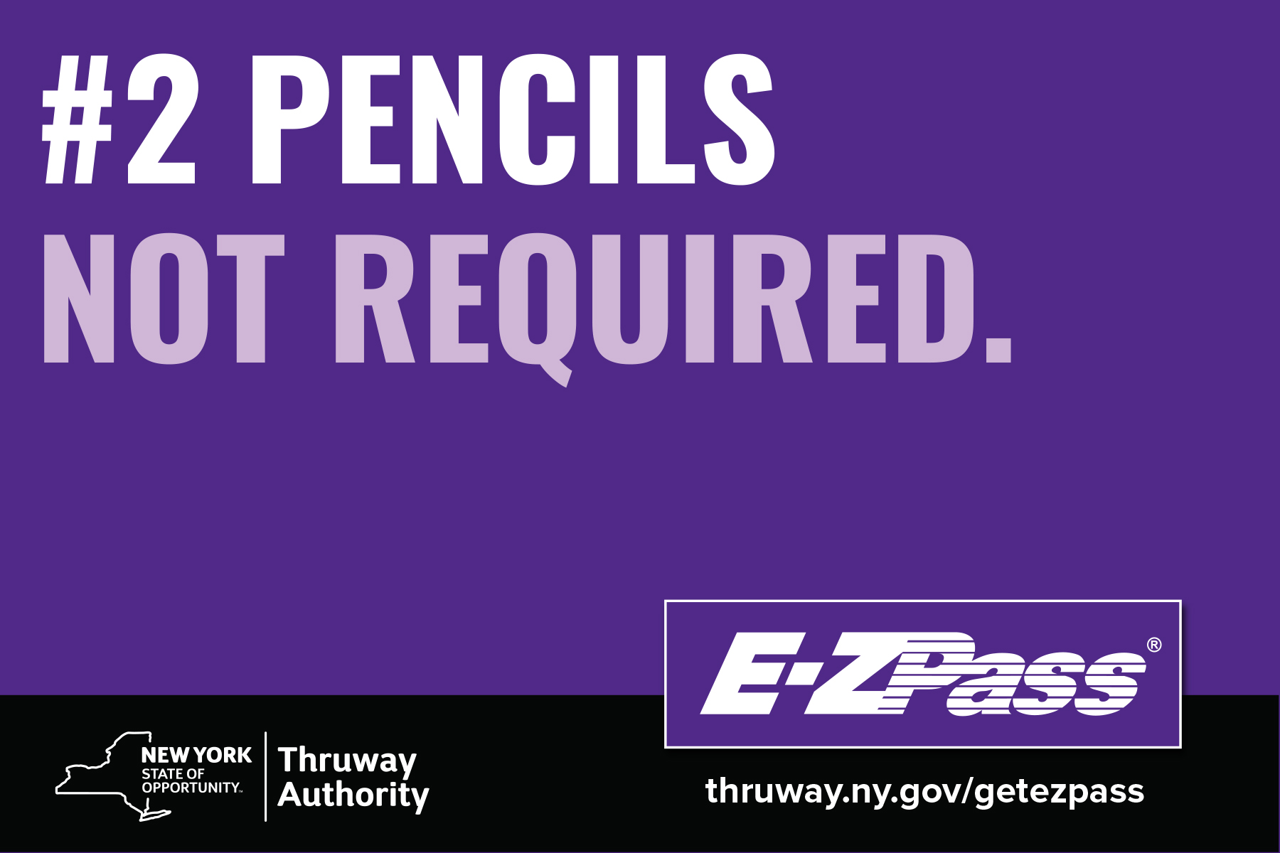 ezpass postcard ad your summer roadtrip called